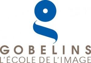 logo gobelins blanc