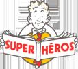 Logo Librairie Super Héros